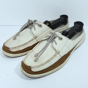 Sperry Topsider Two-tone Women's Mule Boat Shoes
